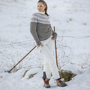 Nytt mönsterhäfte ECO Highland Wool