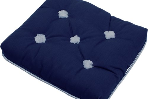 Kapockdynor Marinblå Enkel 129kr