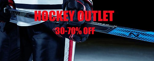 Score huge savings on Clearance Equipment from the most popular brands like Bauer, CCM and Warrior.