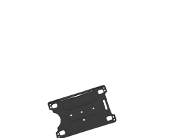 Korthållare smarta hållare till plastkort