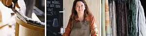 TAPETSERIET Jennie ger liv åt gamla möbler