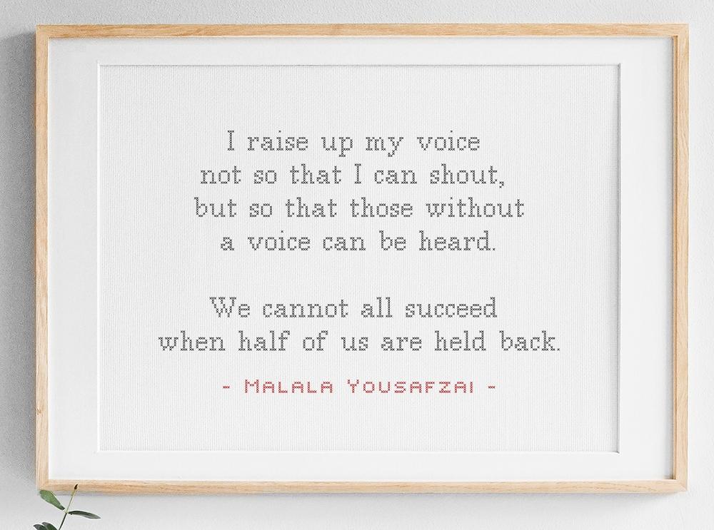 I raise up my voice