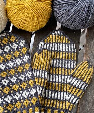 NYHET! Emilias Vantar Stick-kit med garn och mönster