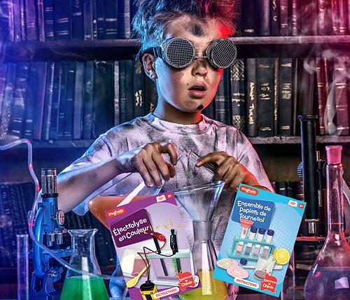 Direkt till Experiment och Vetenskap För barn som utforskar!