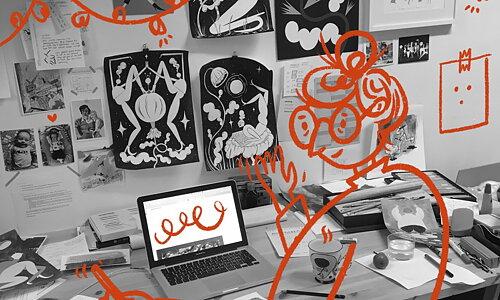 Saga Bergebo Möt illustratören och hennes fantasifulla bilder