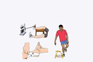 Stukad Fot Akut omhändertagande, rehab, funktion, tejpning