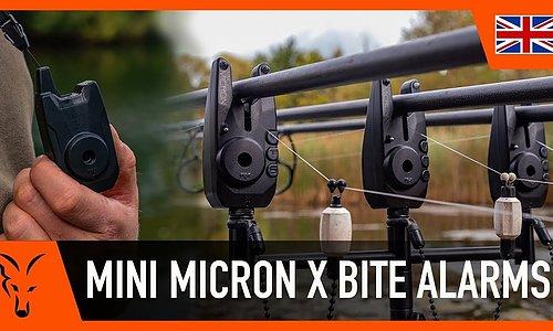 Fox Mini Micron larmkit 2+1 och 3+1 finns på lager