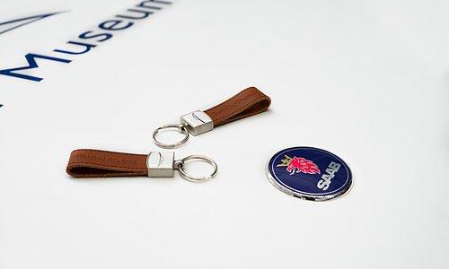 Keychain  Saab Cars Museum