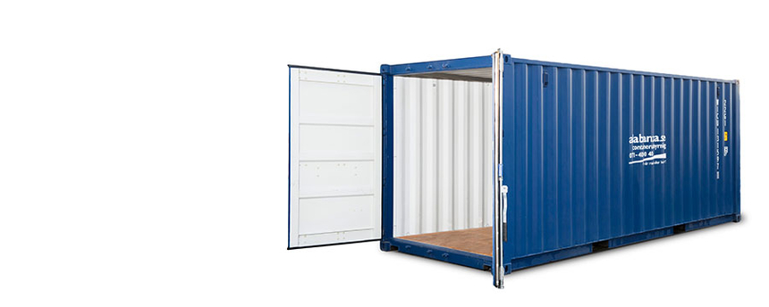 20 fot (33 m3) container