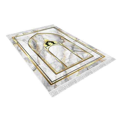 MARBLE PRAYER RUG New €29.40