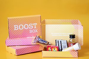 BOOSTBOX Ett enkelt & smart sätt att boosta dina medarbetare som jobbar hemifrån!