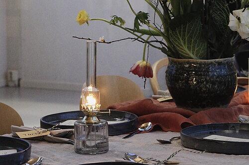 Fotogenlampor från Strömshaga