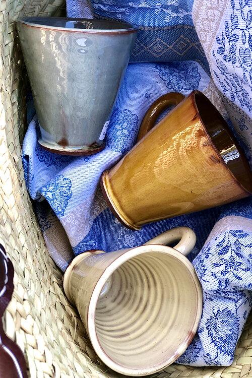 Keramik från Barbotine