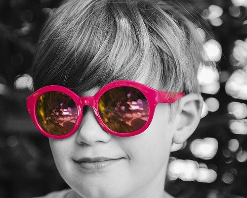 Barnsolglasögon
