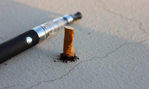 Sluta röka med hjälp av e-cigg?