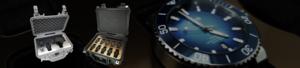 Exklusiva hardcase för klockor Skydda, förvara, transportera. väskor levereras med livstids garanti.