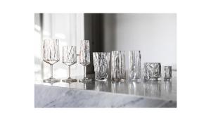 Okrossbara glas från Koziol