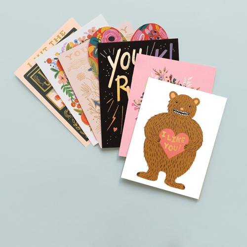 Send some Love! Skicka ett kort till någon du tycker om.