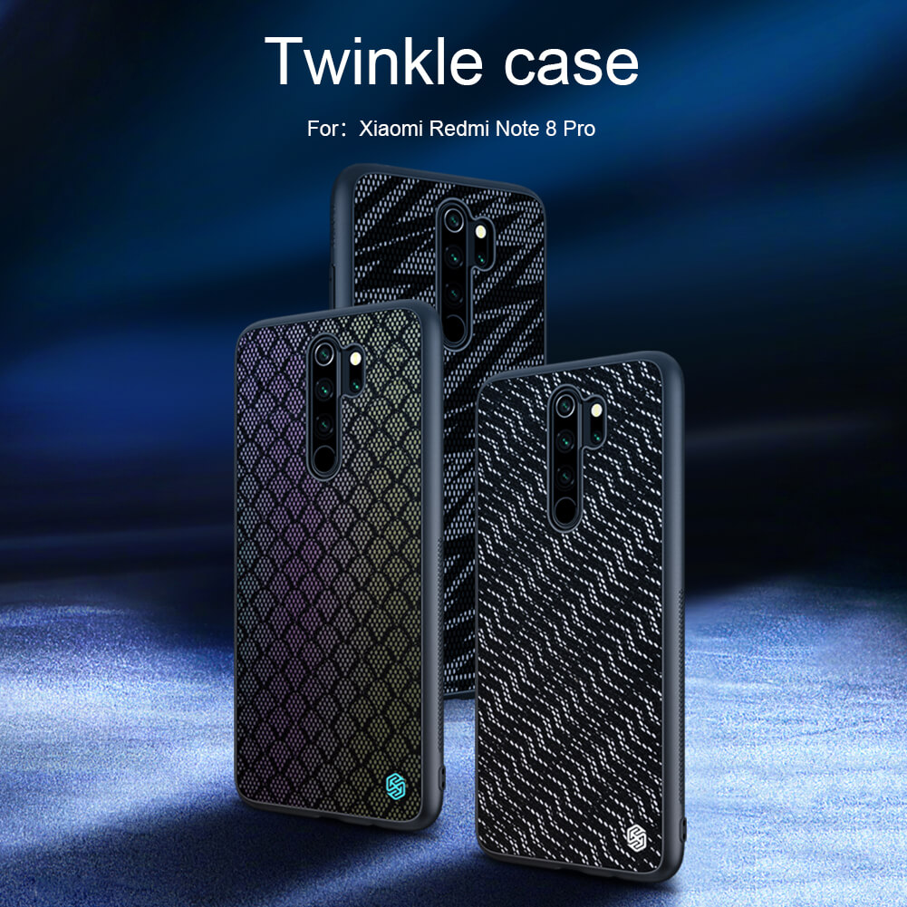 Nillkin Gradient Twinkle cover case for Xiaomi Mi10 (Mi 10 5G)
