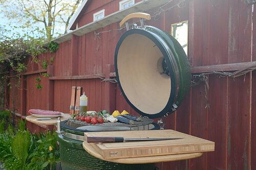 Säkra din året runt grillning med en kamado från HabaneroBBQ