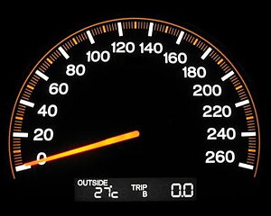 Belastning/hastighet index