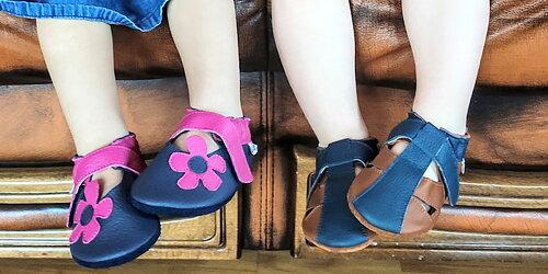 Lätta och bekväma barfotatofflor från Liliputi Fantastiskt hantverk och unik design!