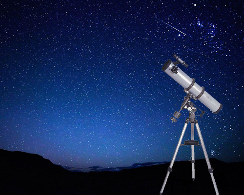Prisvärt spegelteleskop Lotus Teleskop EQ-114 2495:-
