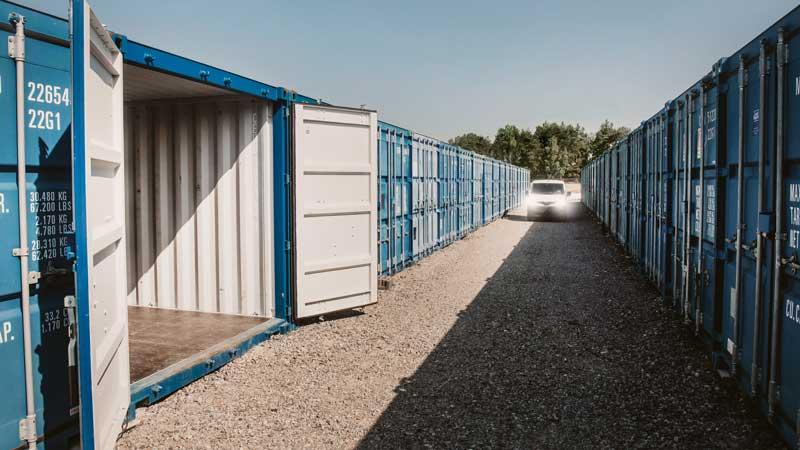 containeranläggning