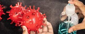Desinfektion för händer och ytor Rena produkter för krävande miljöer Brett och djup sortiment