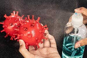 Vi tar fighten  med en rad desinfektionsprodukter