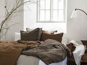 BÄDDSET  Ekologiska sängkläder i fina höstfärger
