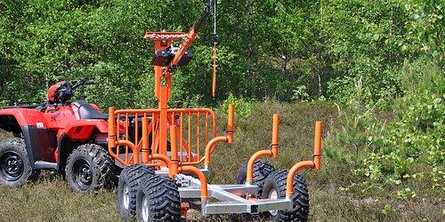 Timmervagnar i flera utföranden från den enklaste till Big Kit modeller