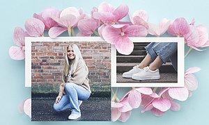 Nu trillar det in vårnyheter för fullt. Här ser ni Isabell i sneakers från Gant 1 495 SEK