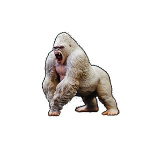 Nytt från REBOR Alpha Male Mountain Gorilla Z Albino NU i butik