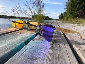 Solglasögon! Våra populära frameless solglasögon! Nu i ännu fler färger!